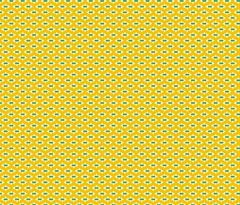 Racing Rectangles Yellow fabric by melaniesullivan on Spoonflower - custom fabric