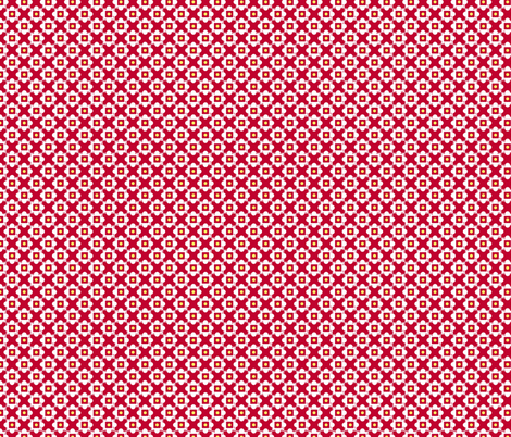 church windows red fabric by melaniesullivan on Spoonflower - custom fabric