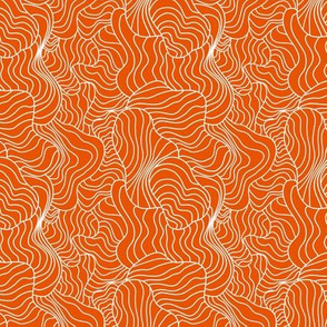 Crazy Contours Orange