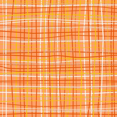 Wavy Wovens Orange