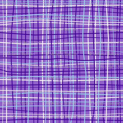 Wavy Wovens Purple