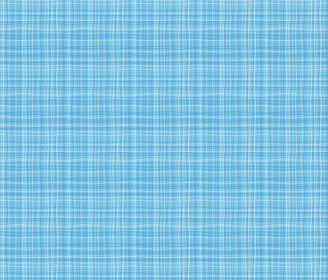 Wavy Wovens Blue fabric by melaniesullivan on Spoonflower - custom fabric