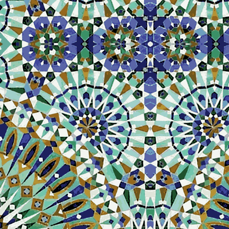 Alhambra fabric by flyingfish on Spoonflower - custom fabric