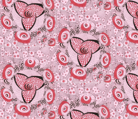 Pink_Rose fabric by deborah_palmarini on Spoonflower - custom fabric