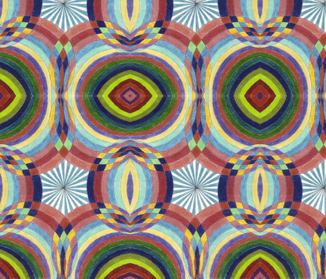HexTilt fabric by deborah_palmarini on Spoonflower - custom fabric