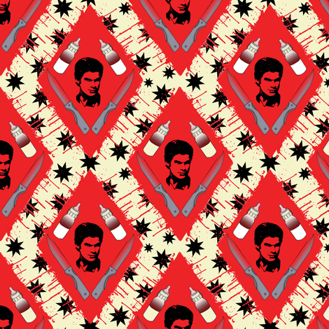 Dexter`s tools fabric by susiprint on Spoonflower - custom fabric