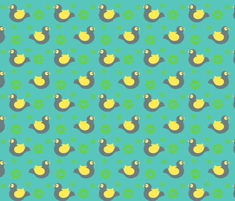 birdies3 fabric by darlingdearest on Spoonflower - custom fabric