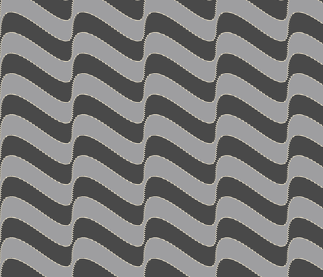 Guinean Bolt (Grey) fabric by david_kent_collections on Spoonflower - custom fabric