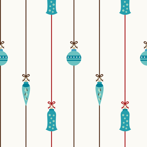 Ornaments fabric by sugarxvice on Spoonflower - custom fabric