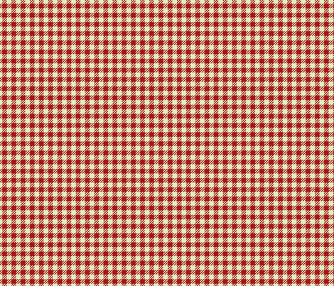 Christmas Plaid (Red) fabric by sugarxvice on Spoonflower - custom fabric
