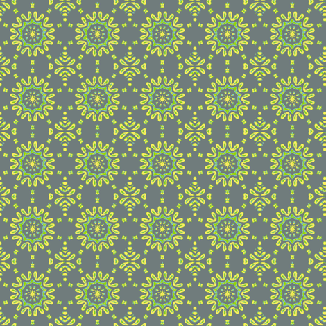 fancy_circle-gry fabric by kerryn on Spoonflower - custom fabric