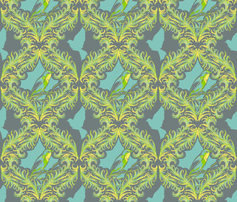 Flights of Fancy fabric by arcaderat on Spoonflower - custom fabric