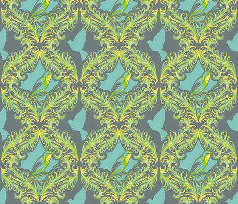 Flights of Fancy fabric by arcaderat on Spoonflower - custom fabric