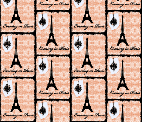 Evening in Paris 2012 fabric by karenharveycox on Spoonflower - custom fabric