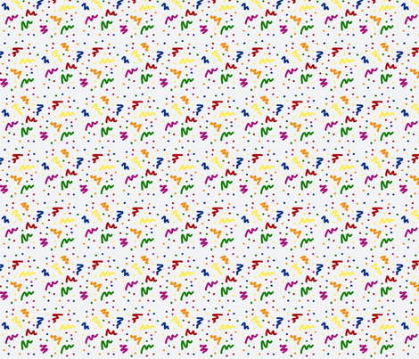 Rainbow Ziggy fabric by pmegio on Spoonflower - custom fabric