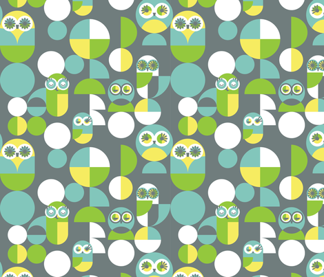 Flights of Fancy fabric by kate_legge on Spoonflower - custom fabric