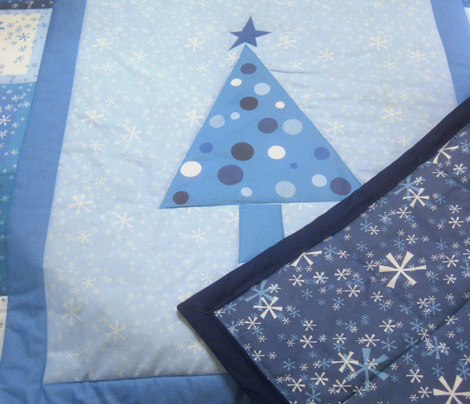 Winter Wonderland Cheater Quilt