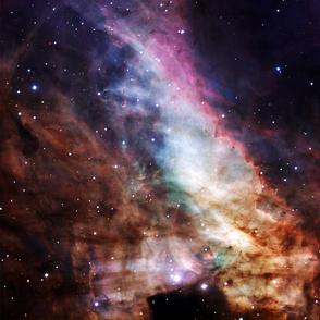 Space eye print