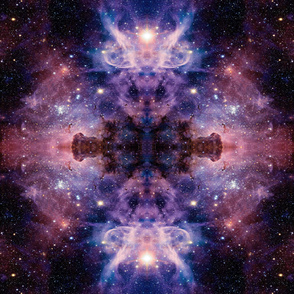 SPACE PRINT ALIEN