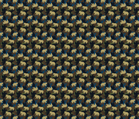 miniLittleBearCamo fabric by littlebear on Spoonflower - custom fabric