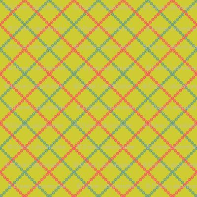 Retro Style Lines Christmas Pattern