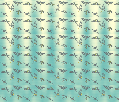 Flight-of-Fancy fabric by prettyhawk on Spoonflower - custom fabric