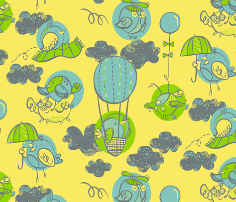 AA fabric by gsonge on Spoonflower - custom fabric