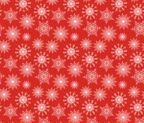 Ornate Snowflakes Pattern fabric by diane555 on Spoonflower - custom fabric