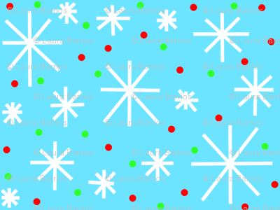 holiday snowflakes
