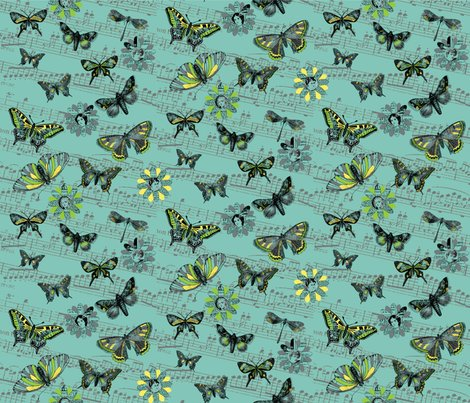 Vintage_butterfly_flight_teal_shop_preview