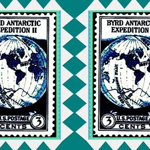 Byrd Antarctic Expedition Stamp