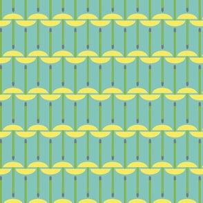Geometric Dandelion Puffs