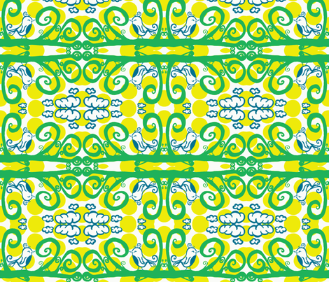 Fancying A Bit of a Flitter  fabric by syllatham on Spoonflower - custom fabric