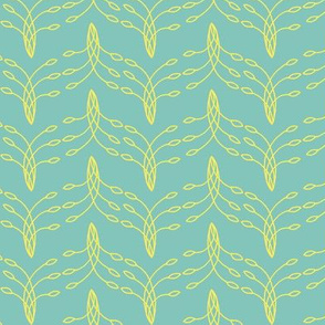 Tail Feathers-Teal