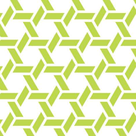 kagome thick in peridot fabric by chantae on Spoonflower - custom fabric