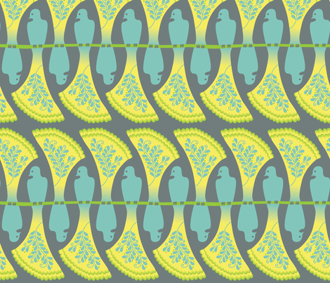 FlightsofFancy fabric by melhales on Spoonflower - custom fabric