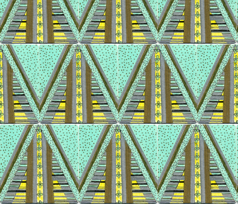 Straight_arrow fabric by pink_finch on Spoonflower - custom fabric