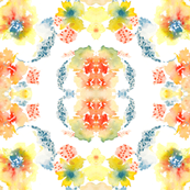 Watercolor Flower, Spring 2013 Collection, No. 3