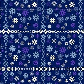 snowflakes borders