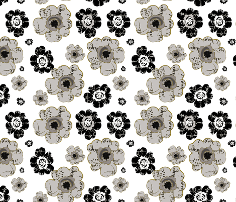 A French Bouquet fabric by karenharveycox on Spoonflower - custom fabric