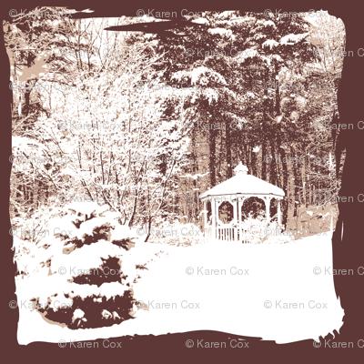 Winter Wonderland Woodland