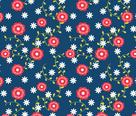 matisse fabric by darlingdearest on Spoonflower - custom fabric