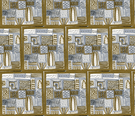 Hollywood_Squares fabric by pink_finch on Spoonflower - custom fabric