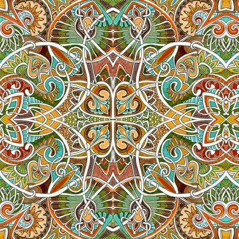 Autumnal Equinox fabric by edsel2084 on Spoonflower - custom fabric