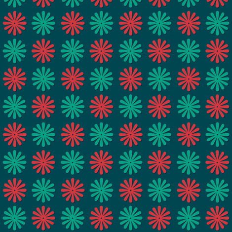 Christmas Stars fabric by pennycandy on Spoonflower - custom fabric
