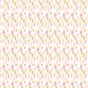 Pastel Floral Leaf Pattern