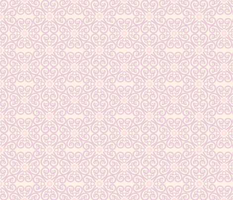 Pastel Abstract Floral Pattern fabric by diane555 on Spoonflower - custom fabric