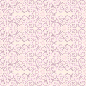 Pastel Abstract Floral Pattern