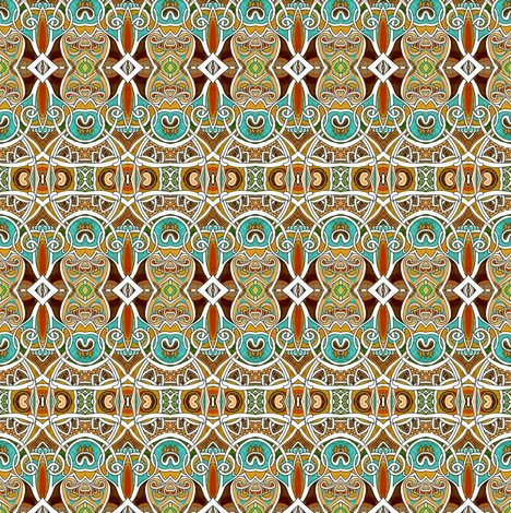 Propeller des Lis fabric by edsel2084 on Spoonflower - custom fabric