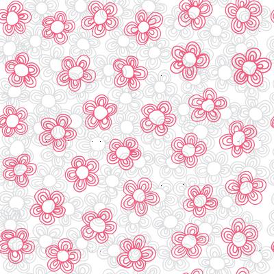 Wee Flowers, Coral